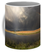 Hail Storm And Rainbow Coffee Mug