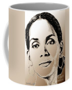 Halle Berry In 2008 Coffee Mug by J McCombie