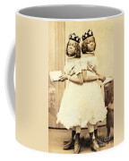 2 Headed Girl Millie-chrissie Coffee Mug by Photo Researchers