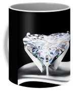 Heart Diamond Coffee Mug by Setsiri Silapasuwanchai