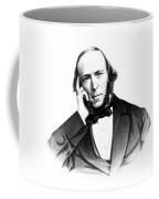 Herbert Spencer, English Polymath Coffee Mug by Science Source