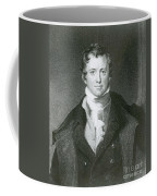 Humphry Davy, English Chemist Coffee Mug