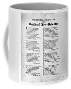 Hunters Of Kentucky, 1815 Coffee Mug