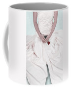 Lady With A Rose Coffee Mug