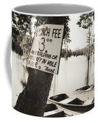 Launch Fee - Sepia Toned Coffee Mug