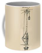 Leonardo Da Vincis Lifting Gear Coffee Mug by Science Source