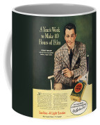 Lucky Strike Cigarette Ad Coffee Mug
