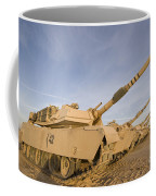 M1 Abrams Tanks At Camp Warhorse Coffee Mug