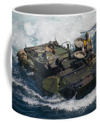 Marines Navigate An Amphibious Assault Coffee Mug