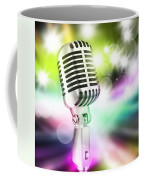 Microphone On Stage Coffee Mug