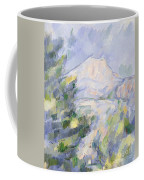 Mont Sainte-victoire Coffee Mug by Paul Cezanne