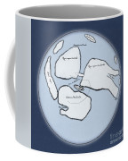 Moon Map By William Gilbert, 1603 Coffee Mug by Science Source