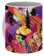 Moon Rock, Transmitted Light Micrograph Coffee Mug