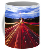 Night Traffic Coffee Mug