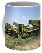 Old Russian Bm-21 Launch Vehicle Coffee Mug