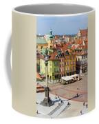 Old Town In Warsaw Coffee Mug
