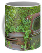 Overgrown Rusty Ford Pickup Truck Coffee Mug