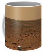 Panoramic View Of Mars Coffee Mug