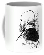 Paul Verlaine (1844-1896) Coffee Mug