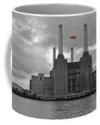 Pink Floyd Pig At Battersea Coffee Mug