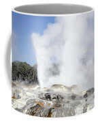 Pohutu And Prince Of Wales Feathers Coffee Mug