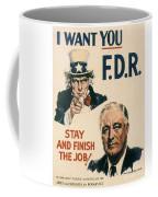 Presidential Campaign, 1940 Coffee Mug