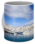 Puerto Banus In Spain Coffee Mug