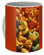 Pumpkins And Gourds Coffee Mug