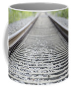 Railroad Tracks Coffee Mug