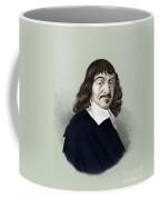 Rene Descartes, French Polymath Coffee Mug