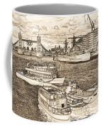 River Thames Art Coffee Mug
