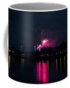 River Thames Fireworks Coffee Mug