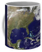 Satellite View Of The United States Coffee Mug