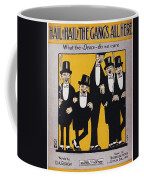 Sheet Music Cover, 1917 Coffee Mug