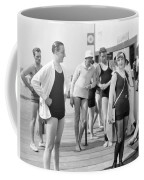 Silent Film Still: Beach Coffee Mug