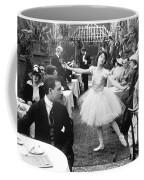 Silent Film Still: Dancing Coffee Mug