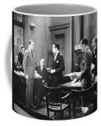 Silent Still: Courtroom Coffee Mug