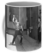 Silent Still: Man In Distress Coffee Mug