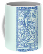 St. Catherine, Italian Philosopher Coffee Mug