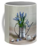 Still Life With Grape Hyacinths Coffee Mug