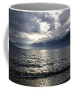 Sunlight Over A Lake Coffee Mug