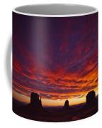 Sunrise Over Monument Valley, Arizona Coffee Mug