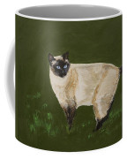 Sweetest Siamese Coffee Mug by Leslie Allen