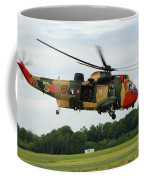 The Sea King Helicopter Of The Belgian Coffee Mug