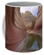 The Wave, A Fragile Standstone Coffee Mug