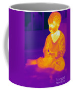 Thermogram Of A Boy Coffee Mug