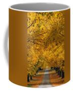 Trees In Autumn Coffee Mug