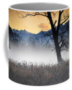 Trees With Fog Coffee Mug