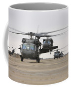Uh-60 Black Hawks Taxis Coffee Mug