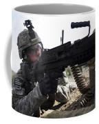 U.s. Army Soldier Provides Security Coffee Mug